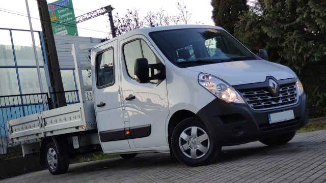 Peugeot Boxer DOKA 7-mio osobowa [skrzynia otwarta]