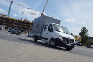 Renault Master / Iveco Daily DOKA skrzynia zamknięta